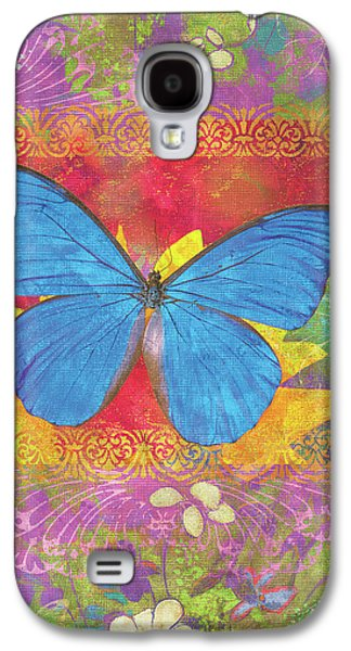 Butterflies Galaxy S4 Cases - Beauty Queen Butterfly Galaxy S4 Case by JQ Licensing