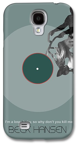 Sound Digital Galaxy S4 Cases - Beck Poster Galaxy S4 Case by Naxart Studio