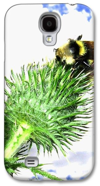Weed Line Galaxy S4 Cases - Bee-Line 4 Galaxy S4 Case by Will Borden