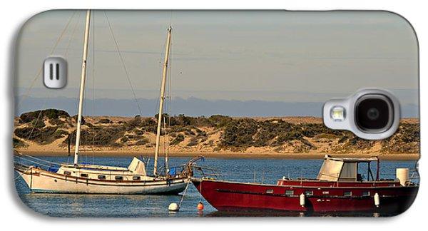 Boats In Harbor Galaxy S4 Cases - Before Sundown Galaxy S4 Case by Fraida Gutovich