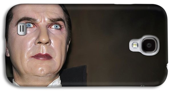 Statue Portrait Galaxy S4 Cases - Bela Lugosi As Dracula Galaxy S4 Case by Sophie Vigneault