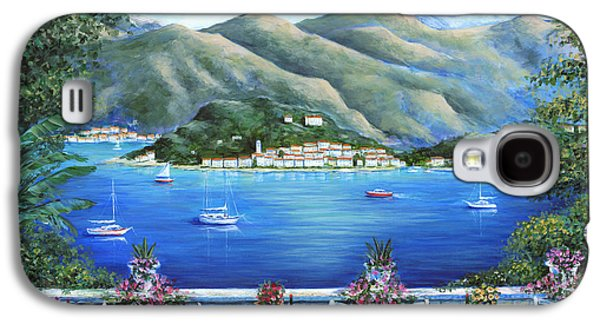 Wine Scene Galaxy S4 Cases - Bellagio From The Cafe Galaxy S4 Case by Marilyn Dunlap