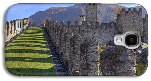Castle Photographs Galaxy S4 Cases - Bellinzona - Castelgrande Galaxy S4 Case by Joana Kruse