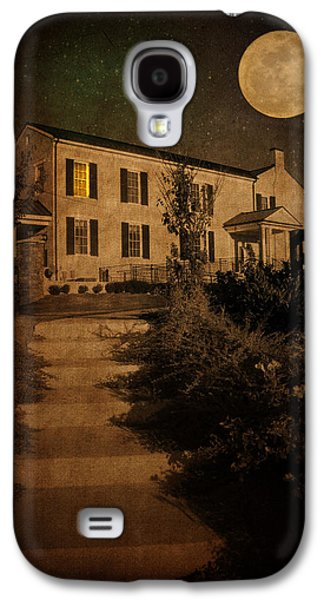 Moon Galaxy S4 Cases - Beneath the Perigree Moon Galaxy S4 Case by Amy Tyler