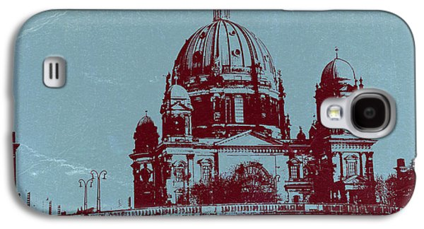 European City Digital Art Galaxy S4 Cases - Berlin Cathedral Galaxy S4 Case by Naxart Studio