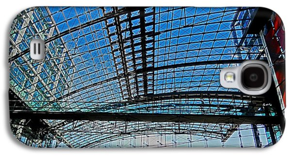 Bahn Galaxy S4 Cases - Berlin Central Station ...  Galaxy S4 Case by Juergen Weiss