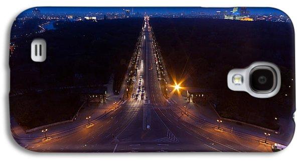 Berlin Germany Galaxy S4 Cases - Berlin from the Siegessaule  Galaxy S4 Case by Mike Reid