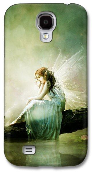 Fantasy Galaxy S4 Cases - Best of Friends Galaxy S4 Case by Karen H