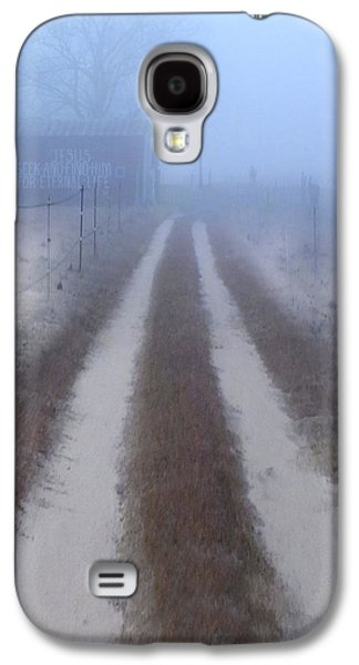 See Galaxy S4 Cases - Better Find Jesus Galaxy S4 Case by Mike McGlothlen