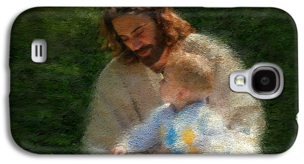 Child Jesus Paintings Galaxy S4 Cases - Bible Stories Galaxy S4 Case by Greg Olsen