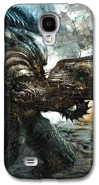 Concept Art Galaxy S4 Cases - Big Badass Daddy Galaxy S4 Case by Alex Ruiz