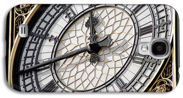 Technological Photographs Galaxy S4 Cases - Big Ben Clock Face, London, Uk Galaxy S4 Case by Johnny Greig