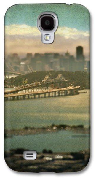 San Francisco Bay Galaxy S4 Cases - Big City Dreams Galaxy S4 Case by Laurie Search