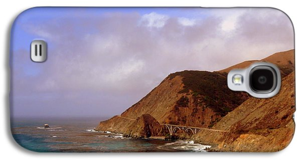 Bridge On Highway One Galaxy S4 Cases - Big Creek Bridge Galaxy S4 Case by Jeff Lowe