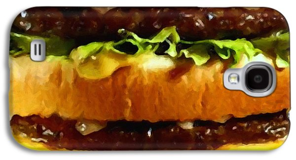 Wingsdomain Galaxy S4 Cases - Big Mac - Painterly Galaxy S4 Case by Wingsdomain Art and Photography