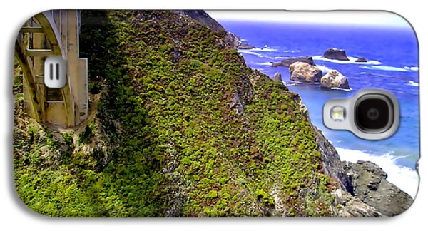 Bixby Bridge Galaxy S4 Cases - Big Sur III Galaxy S4 Case by Ellen Heaverlo