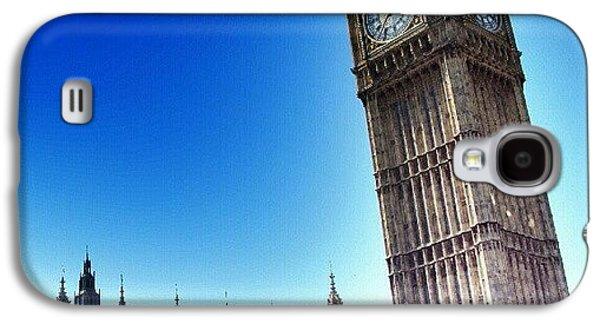 #bigben #uk #england #london2012 Galaxy S4 Case by Abdelrahman Alawwad