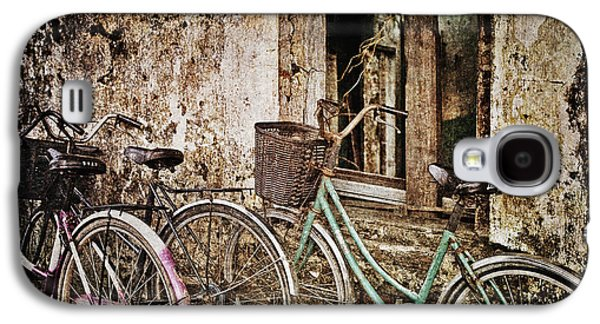 Useful Galaxy S4 Cases - Bikes and a Window Galaxy S4 Case by Skip Nall