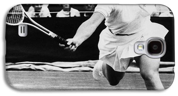 Wimbledon Galaxy S4 Cases - Billie Jean King (1943- ) Galaxy S4 Case by Granger