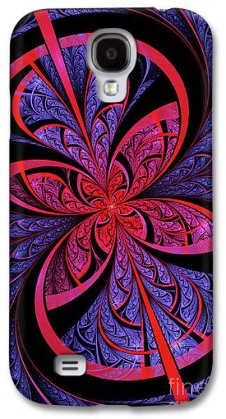 Flame Galaxy S4 Cases - Bipolar Galaxy S4 Case by John Edwards