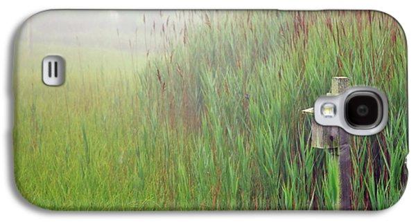 Hamptons Galaxy S4 Cases - Bird House in Quogue Wildlife Preserve Galaxy S4 Case by Rick Berk