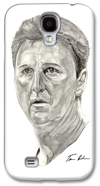 Larry Bird Galaxy S4 Cases - Bird Galaxy S4 Case by Tamir Barkan
