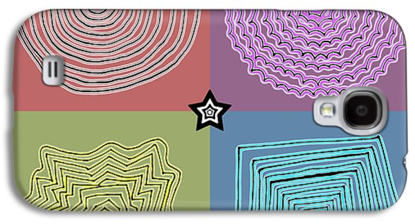 Abstract Digital Drawings Galaxy S4 Cases - Birth of a star Galaxy S4 Case by Sumit Mehndiratta