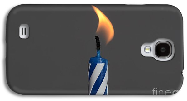 Buy Galaxy S4 Cases - Birthday Candle Galaxy S4 Case by Photo Researchers, Inc.