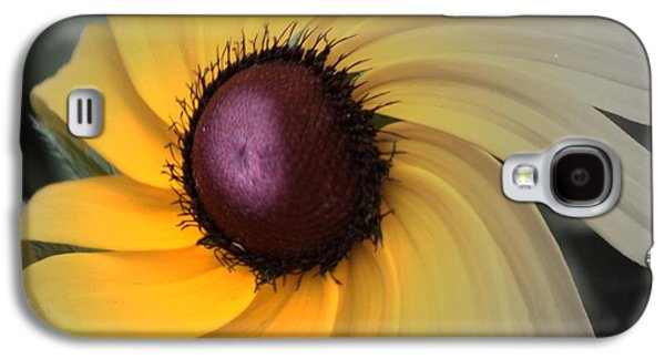 Abstract Digital Photographs Galaxy S4 Cases - Black Eyed Susan Abstract 2 Galaxy S4 Case by Marjorie Imbeau