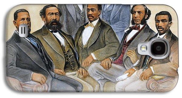 Reconstruction Galaxy S4 Cases - Black Senators, 1872 Galaxy S4 Case by Granger
