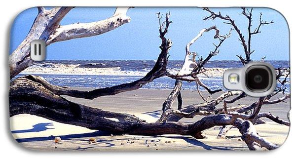 Wildlife Refuge. Galaxy S4 Cases - Blackbeard Island Beach Galaxy S4 Case by Thomas R Fletcher