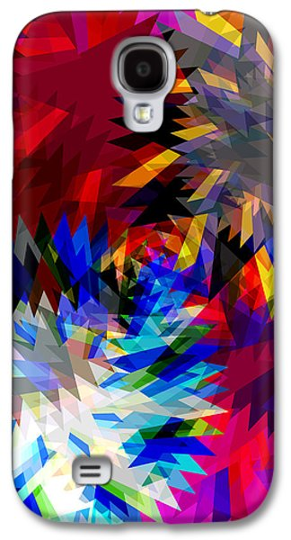 Meshed Galaxy S4 Cases - Blade In Pink Galaxy S4 Case by Atiketta Sangasaeng