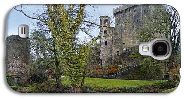 Stone Digital Art Galaxy S4 Cases - Blarney Castle 3 Galaxy S4 Case by Mike McGlothlen