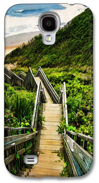 New England Galaxy S4 Cases - Block Island Galaxy S4 Case by Lourry Legarde