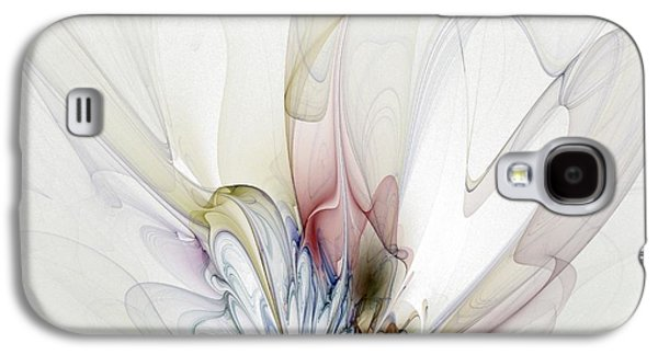 Abstract Digital Art Galaxy S4 Cases - Blow Away Galaxy S4 Case by Amanda Moore