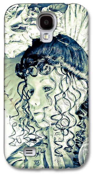 Original Art Photographs Galaxy S4 Cases - Blue Belle Galaxy S4 Case by Colleen Kammerer