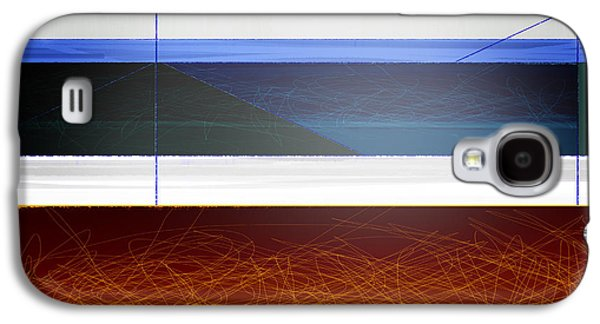 Colorful Abstract Galaxy S4 Cases - Blue Bridge to Life Galaxy S4 Case by Naxart Studio