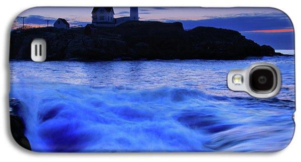 Cape Neddick Galaxy S4 Cases - Blue Dawn Galaxy S4 Case by Rick Berk
