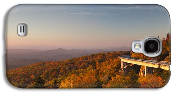 Mountain Road Galaxy S4 Cases - Blue Ridge Parkway Linn Cove Viaduct Galaxy S4 Case by Dustin K Ryan