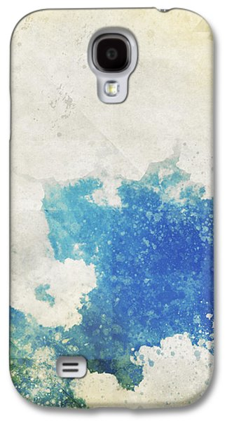 Torn Galaxy S4 Cases - Blue Sky And Cloud On Old Grunge Paper Galaxy S4 Case by Setsiri Silapasuwanchai