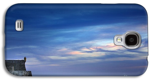 Blue Galaxy S4 Cases - Blue Storm Galaxy S4 Case by Carlos Caetano