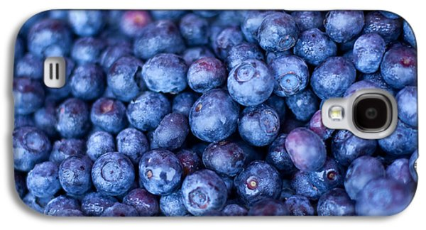 Blueberries Galaxy S4 Case by Tanya Harrison