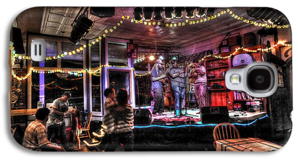 Dan Friend Galaxy S4 Cases - Bluegrass Band Playing Galaxy S4 Case by Dan Friend