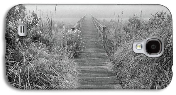 Boardwalk In Quogue Wildlife Preserve Galaxy S4 Case by Rick Berk