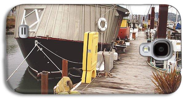 Sausalito Photographs Galaxy S4 Cases - Boat house Galaxy S4 Case by Hiroko Sakai