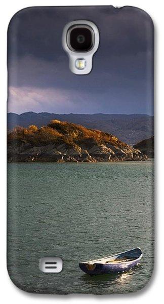 Design Pics - Galaxy S4 Cases - Boat On Loch Sunart, Scotland Galaxy S4 Case by John Short