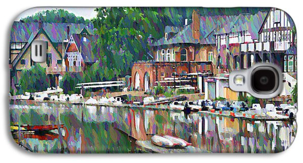 Universities Digital Art Galaxy S4 Cases - Boathouse Row in Philadelphia Galaxy S4 Case by Bill Cannon