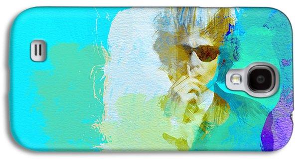 Bob Paintings Galaxy S4 Cases - Bob Dylan Galaxy S4 Case by Naxart Studio