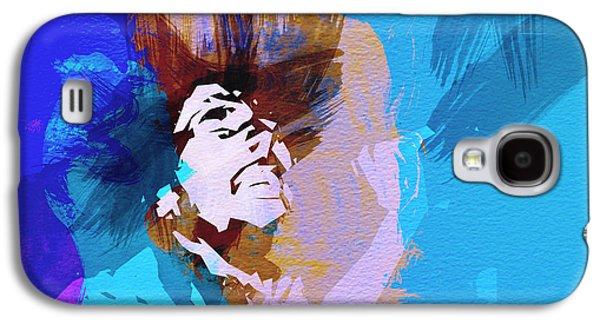 Bob Paintings Galaxy S4 Cases - Bob Marley 3 Galaxy S4 Case by Naxart Studio