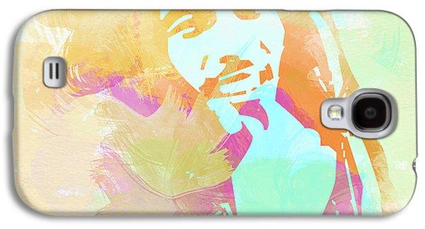 Crying Galaxy S4 Cases - Bob Marley Galaxy S4 Case by Naxart Studio